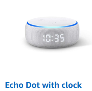 Echo Dot with clockの画像